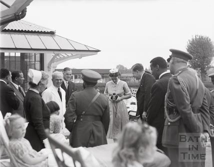 Ethiopian Royal Family in Bath City, 18th October 1954